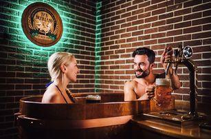 Pivní lázně Františkovy Lázně s neomezenou konzumací piva