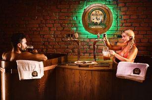 Pivní lázně Mariánské Lázně s neomezenou konzumací piva
