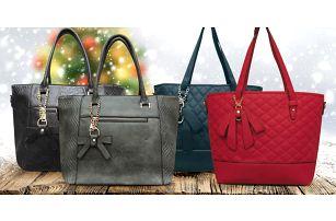 Elegantní dámské kabelky: dva typy a několik barev
