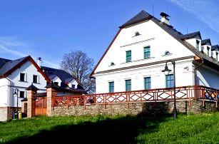 Pobyt na severní Moravě s wellness a polopenzí
