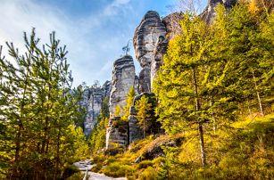 Romantika v Adršpachu: možnost vířivky na pokoji