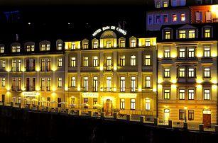 Zima v hotelu Jean de Carro**** v Karlových Varech s wellness a polopenzí