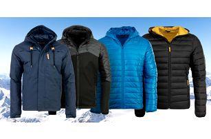 Pánské zimní bundy Alpine Pro