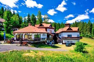 Harrachov: Sport Hotel Bellevue K-180 *** s polopenzí, vstupem do muzea + slevy