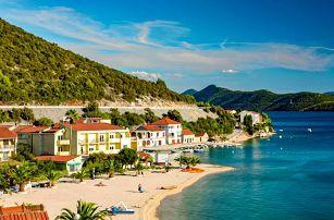 Chorvatsko, Klek | Hotel Plaža*** na pláži | Polopenze | Dítě do 11 let zdarma