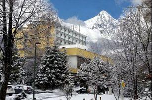 Lyžování v centru Tatranské Lomnice v hotelu SOREA Uran s krásným novým wellness a bazénem