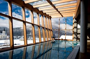 Slovinsko se skipasem   Bohinj Eco hotel****   Polopenze, Wellness a skipas v ceně