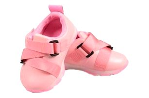 Dětské tenisky blikající růžové