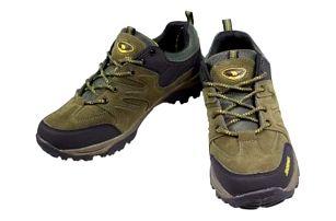 Trekové boty černozelené vel.42