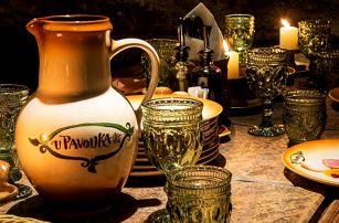 Víkendová historická show, bohaté menu a nápoje