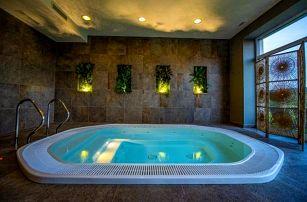 CHKO Křivoklátsko v Resortu Vyhlídka Šlovice s polopenzí a privátním wellness