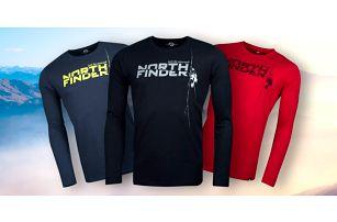 Panská trička Northfinder z hřejivé bavlny