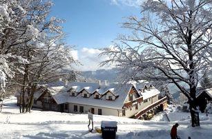 Zima na Chatě Jana s wellness, masáží a polopenzí