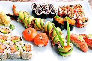 Sushi sety s tradičními i originálními rolkami