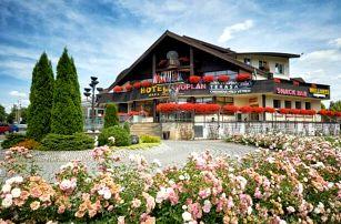 Beskydy u turistických stezek v Hotelu Eroplán **** s wellness, zapůjčením horských kol a polopenzí