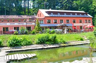 Bílé Karpaty v Hotelu Filipov *** s polopenzí, neomezeným wellness a fitness