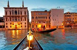 4 denní zájezd Romantická Verona, Benátky a přilehlé ostrovy. Doprava autobusem, ubytování, průvodce