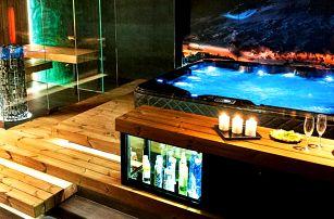 Soukromé spa Zima: sauna, vířivka a sekt pro pár