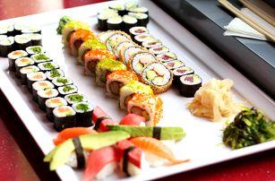 Sety s 28 a 62 ks sushi: losos, krevety i tuňák