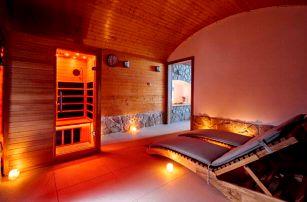 Žďárské vrchy: Wellness Hotel Marta s polopenzí, neomezeným wellness a vínem