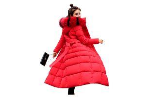 Dlouhý prošívaný kabát - dodání do 2 dnů