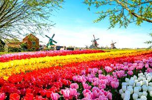 Zájezd do Amsterdamu i květinového parku Keukenhof