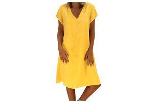 Dámské šaty s krátkým rukávem Merla - dodání do 2 dnů