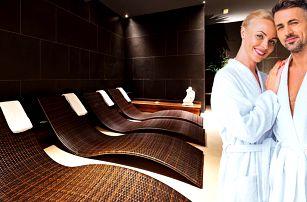 Valentýnské wellness s vířivkou, saunami i sektem
