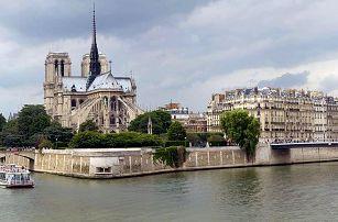 Romantický poznávací výlet do Paříže s autobusovou dopravou