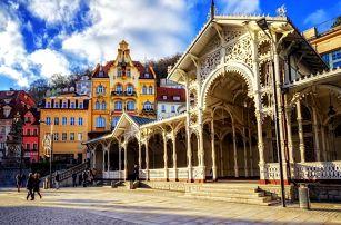 Karlovy Vary – wellness a relaxace v centru lázní vč. POLOPENZE - dlouhá platnost poukazu