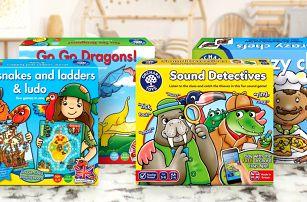 Dětské společenské hry: od 3 let, až pro 5 hráčů