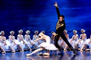 Baletní představení Labutí jezero v Hybernii