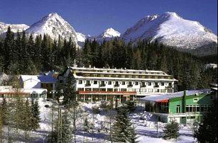 Zimní pobyt na Štrbském Plese v hotelu Toliar s polopenzí a wellness centrem