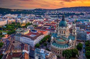 Budapešť luxusně v Expo Congress Hotelu **** se snídaní a neomezeným wellness + dítě do 12 let zdarma
