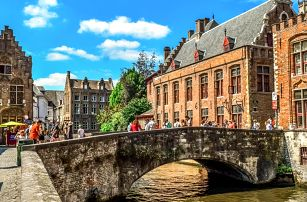 Nejkrásnější města Belgie: Bruggy, Gent i Brusel