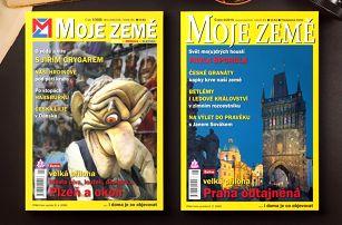 Předplatné časopisu Moje země včetně ročníku 2019
