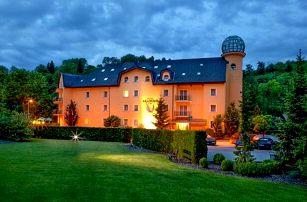 Hrubá Voda u Olomouce v Hotelu Akademie ***+ s privátním wellness Wine & Spa, slevou na masáž a polopenzí