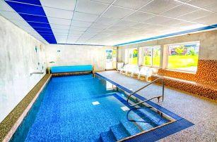 Jeseníky: Hotel Park *** s neomezeným vstupem do venkovního termálního i vnitřního bazénu + slevy a polopenze