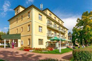 Konstantinovy Lázně: Hotel Jirásek *** s wellness, masáží, solnou jeskyní a akcemi + polopenze