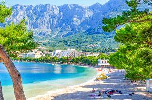 Chorvatsko: Hotel Bonaca *** v Makarske s mnoha atrakcemi jen 70 m od azurového moře + bohatá polopenze