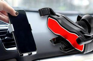 Univerzální držáky na telefon do mřížky auta