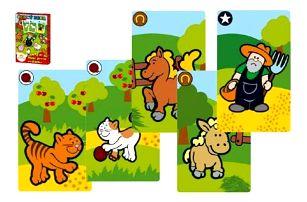 Černý Petr Moje první zvířátka MPZ společenská hra - karty v papírové krabičce 6x9cm