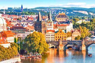 Kouzelná Praha s bazénem i saunou