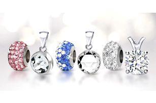 Přívěsky a náhrdelníky s krystalky Swarovski
