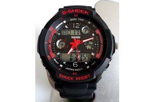 Pánské sportovní hodinky Dual Time ve 3 barevných provedeních