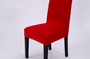 Elegantní potah na kuchyňské židle - Fialová - dodání do 2 dnů