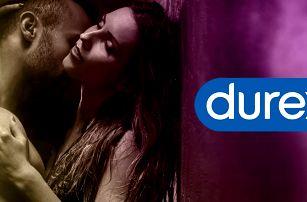 32–64 ks kondomů Durex: tenké, s příchutí i vroubky