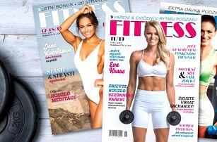 Čtvrtletní i půlroční předplatné časopisu Fitness