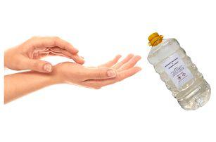 Dezinfekční přípravek na ruce o obsahu 1 nebo 5 litrů
