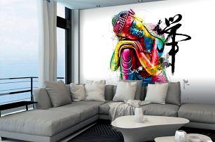 1Wall Vliesová fototapeta Murciano Buddha 366x253 cm